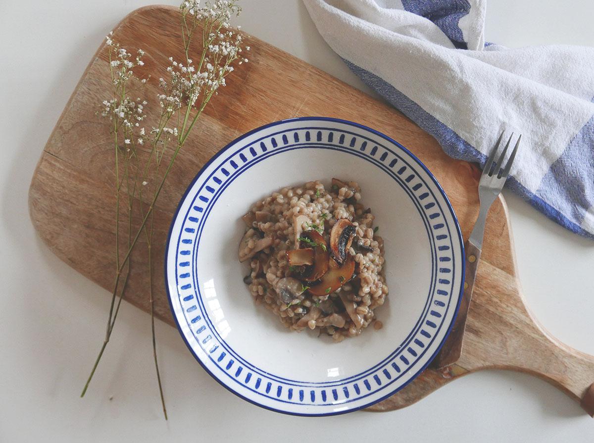 peczotto z grzybami przepis